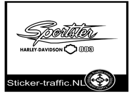 Harley Davidson design 33 Sportster sticker