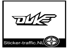 Yamaha Duke sticker