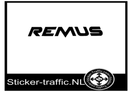 Remus tuning sticker