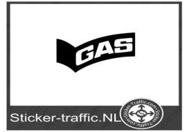 Gas sticker