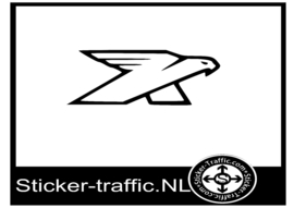 Kestrel logo sticker