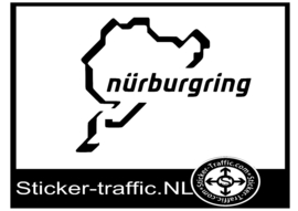 Nurburgring circuit sticker