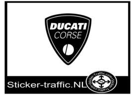 Ducati corse sticker