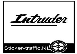 Intruder sticker