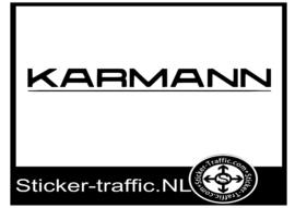 Karmann caravan sticker