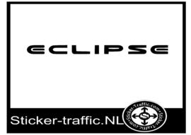Mitsubishi Eclipse sticker