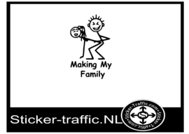 Making my family sticker