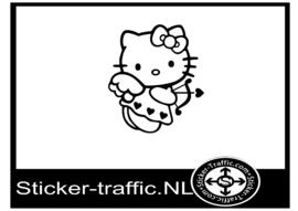 Hello Kitty design 5 sticker