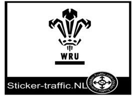 Wales rugby sticker