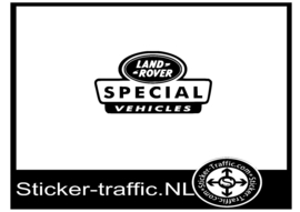 Land-Rover special sticker