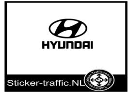 Hyundai logo sticker