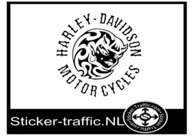 Harley Davidson design 27 sticker