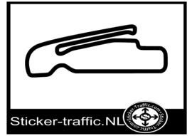 Leipzig Porsche testing centre 2 circuit sticker