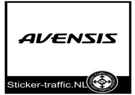 Toyota Avensis sticker