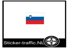 Slovenie vlag sticker