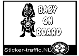 Baby on board design 13 sticker