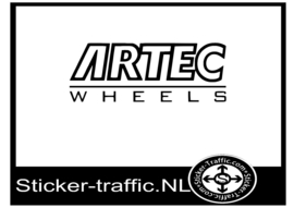 Artec wheels sticker