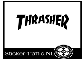 Thrasher skateboard sticker