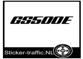 GS500E sticker