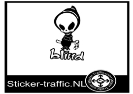 Blind skateboard sticker