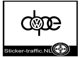 Dope Volkswagen sticker