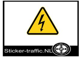 Elektriciteit sticker
