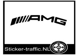 AMG rond remklauw sticker