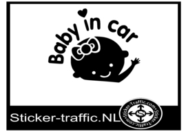 Baby on board design 3 sticker