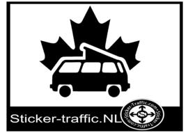 Westfalia ahorn caravan sticker
