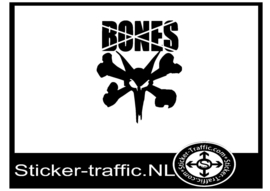 Bones skateboard design 2 sticker