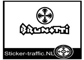 Brunotti hockey sticker