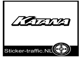 Suzuki katana design 4 sticker