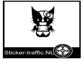 Hello Kitty design 9 sticker