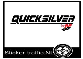 Quicksilver by M sticker