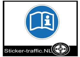 Informatiegids sticker