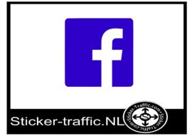 Facebook design 5 sticker