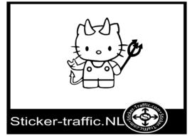 Hello Kitty design 1 sticker