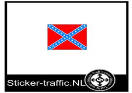 Rebel vlag sticker