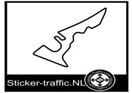 Circuit of the Americas sticker