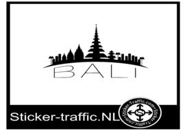 Bali skyline sticker