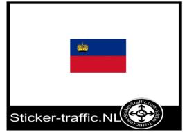 Liechtensteinse vlag sticker