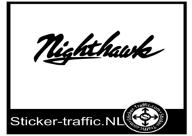 Honda nighthawk sticker