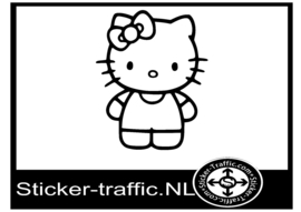 Hello Kitty design 15 sticker