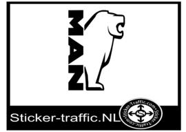 Man design 4 sticker