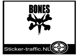 Bones skateboard design 1 sticker