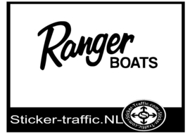 Ranger boats sticker