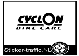 Cyclon bike care sticker