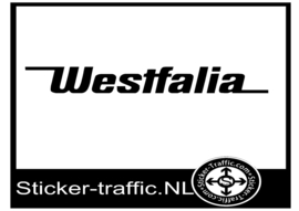 Westfalia caravan sticker