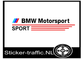 BMW deurpaneel sticker