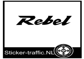Honda rebel sticker
